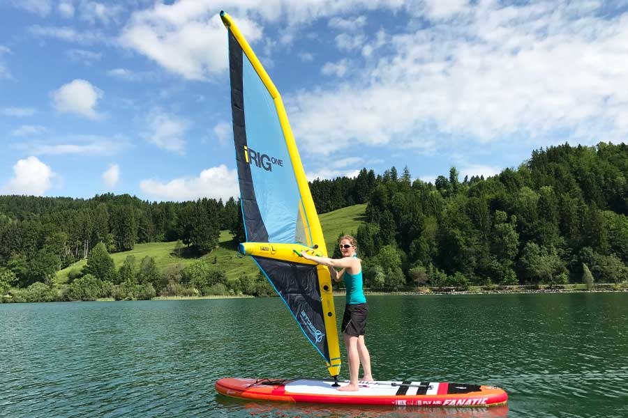 Fanatic Allround Board Mit Sup Segel