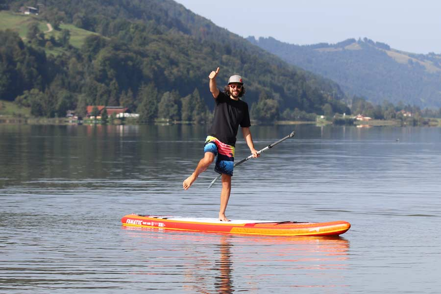 Kippstabiles Sup Touring Race Board