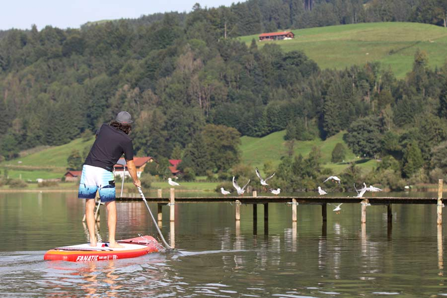 Sup Touren Mit Fanatic Ray Air Premium
