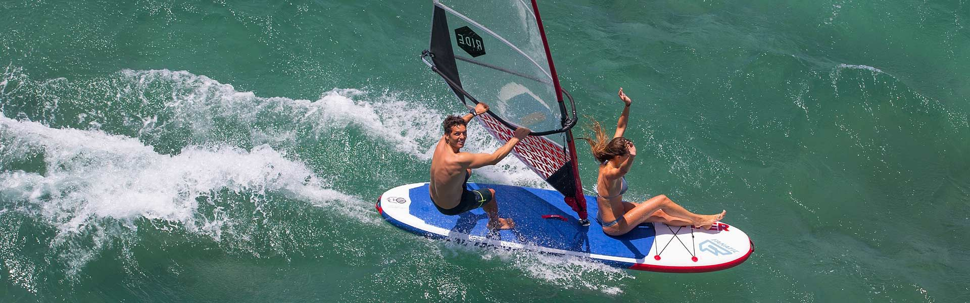 Windsurfen mit dem Fanatic Viper Air