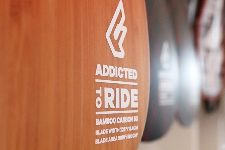 Fanatic Paddel Nahaufnahme Addicted to ride